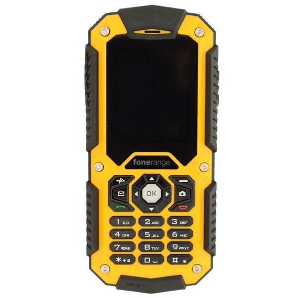 fonerange rugged 128 tough mobile phone